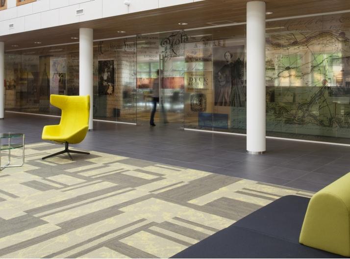 P r trading cradle to cradle tapijttegels portfolio for Interieurarchitecten nederland